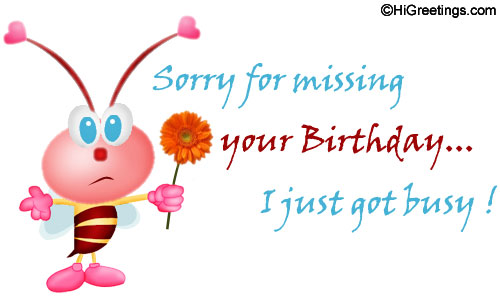 belated birthday wishes clipart ; Belated-Happy-Birthday-Wishes-With-Sorry-11