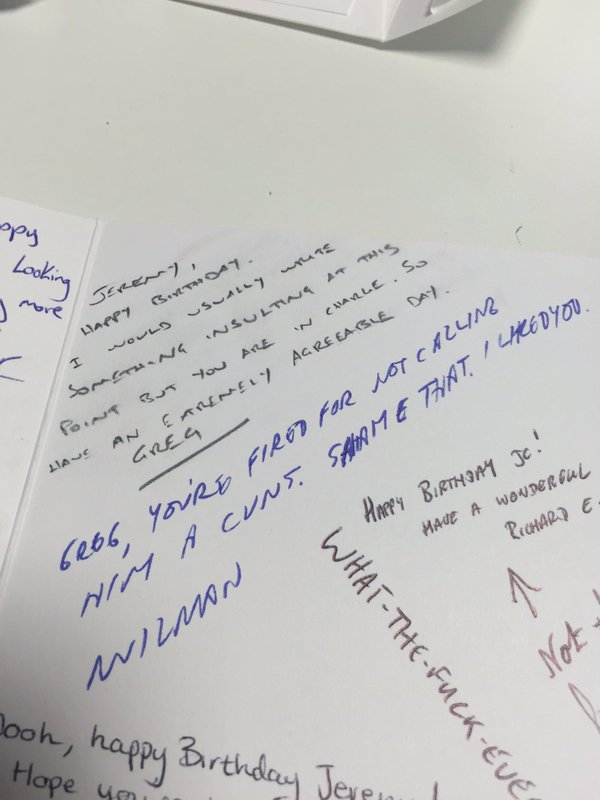 best way to sign a birthday card ; CfxNrPzWIAIMGC3