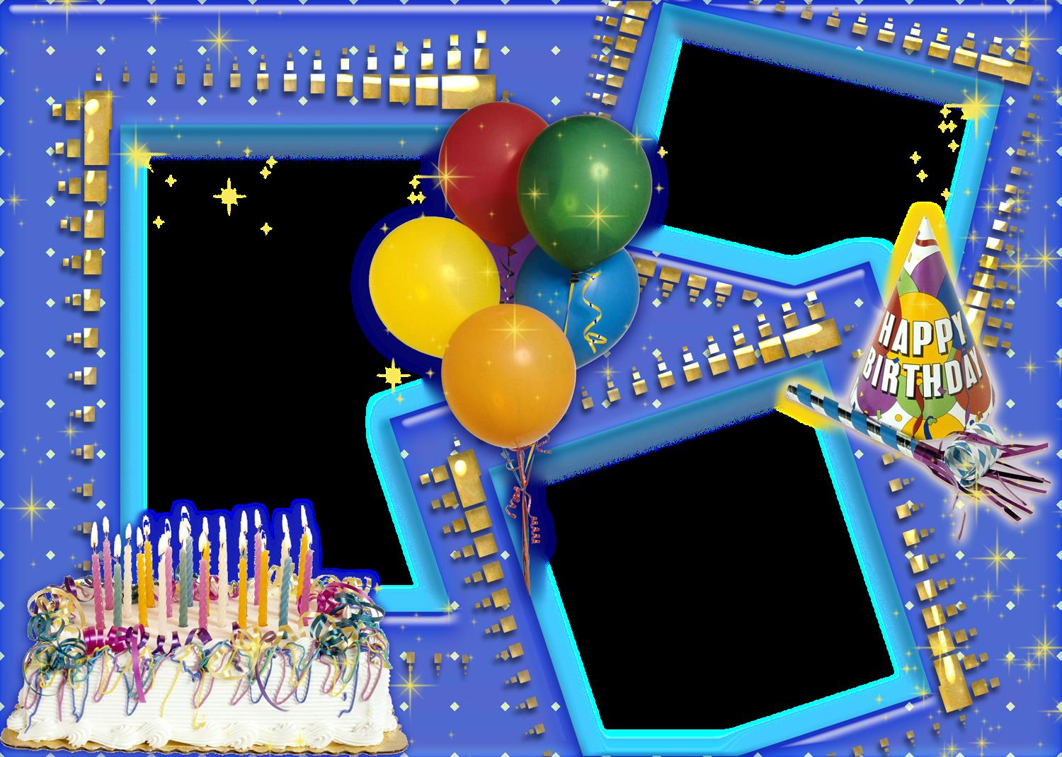 birthday background images for photoshop ; Birthday-Frame