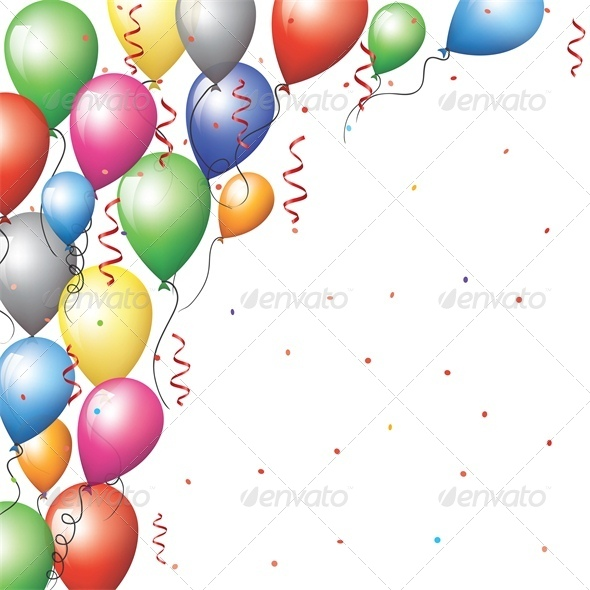 birthday balloons border ; background%2520with%2520border%2520of%2520flying%2520baloons%2520_pv