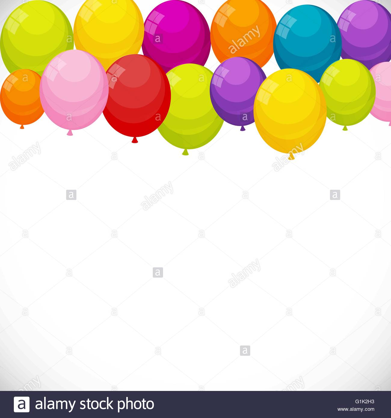 birthday banner background images ; color-glossy-happy-birthday-balloons-banner-background-vector-G1K2H3