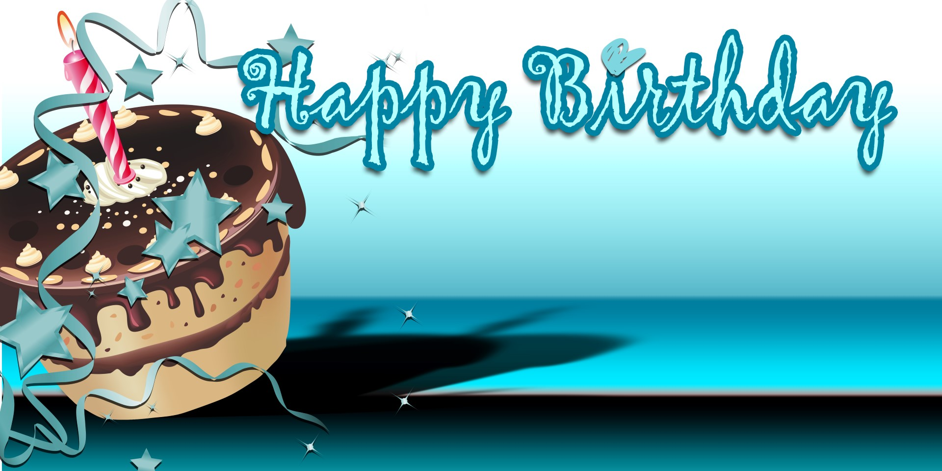 birthday banner design with photo ; Happy-Birthday-Banner-%25E2%2580%2593-Teal-Cake-1920x960