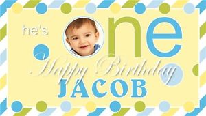 birthday banner design with photo ; s-l300