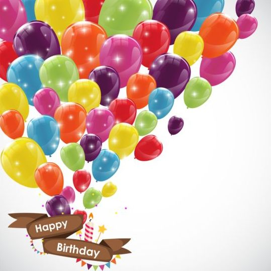 birthday banner images ; Ribbon-birthday-banner-with-colorful-balloons-vector-01