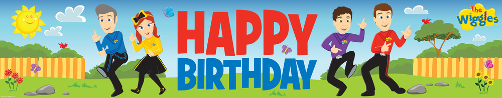 birthday banner with picture ; 400345