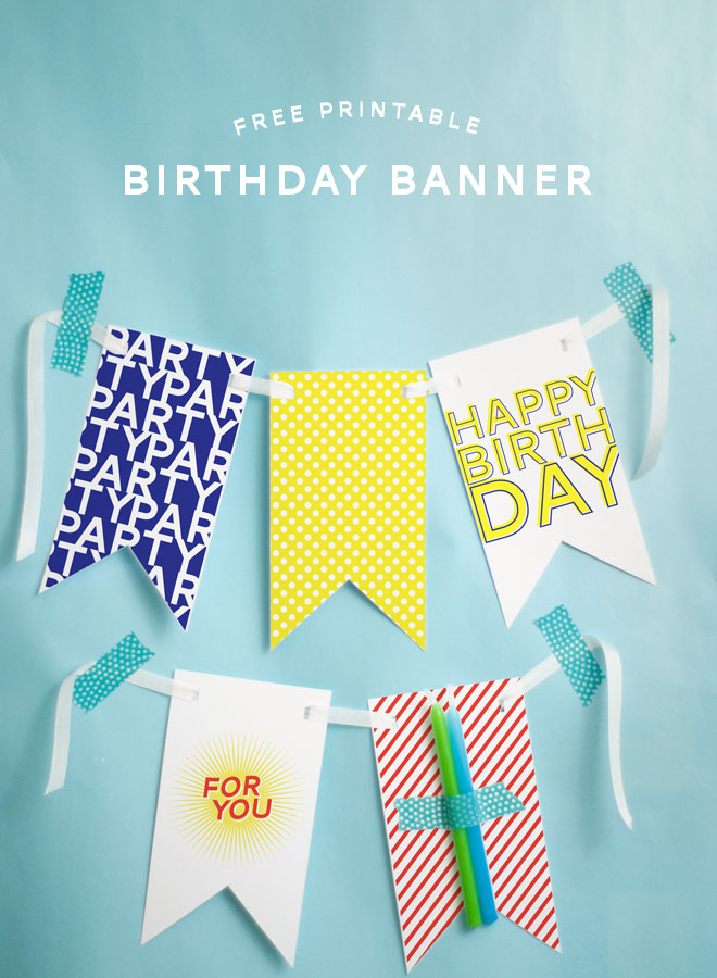 birthday banner with picture ; free-printable-birthday-banner-1