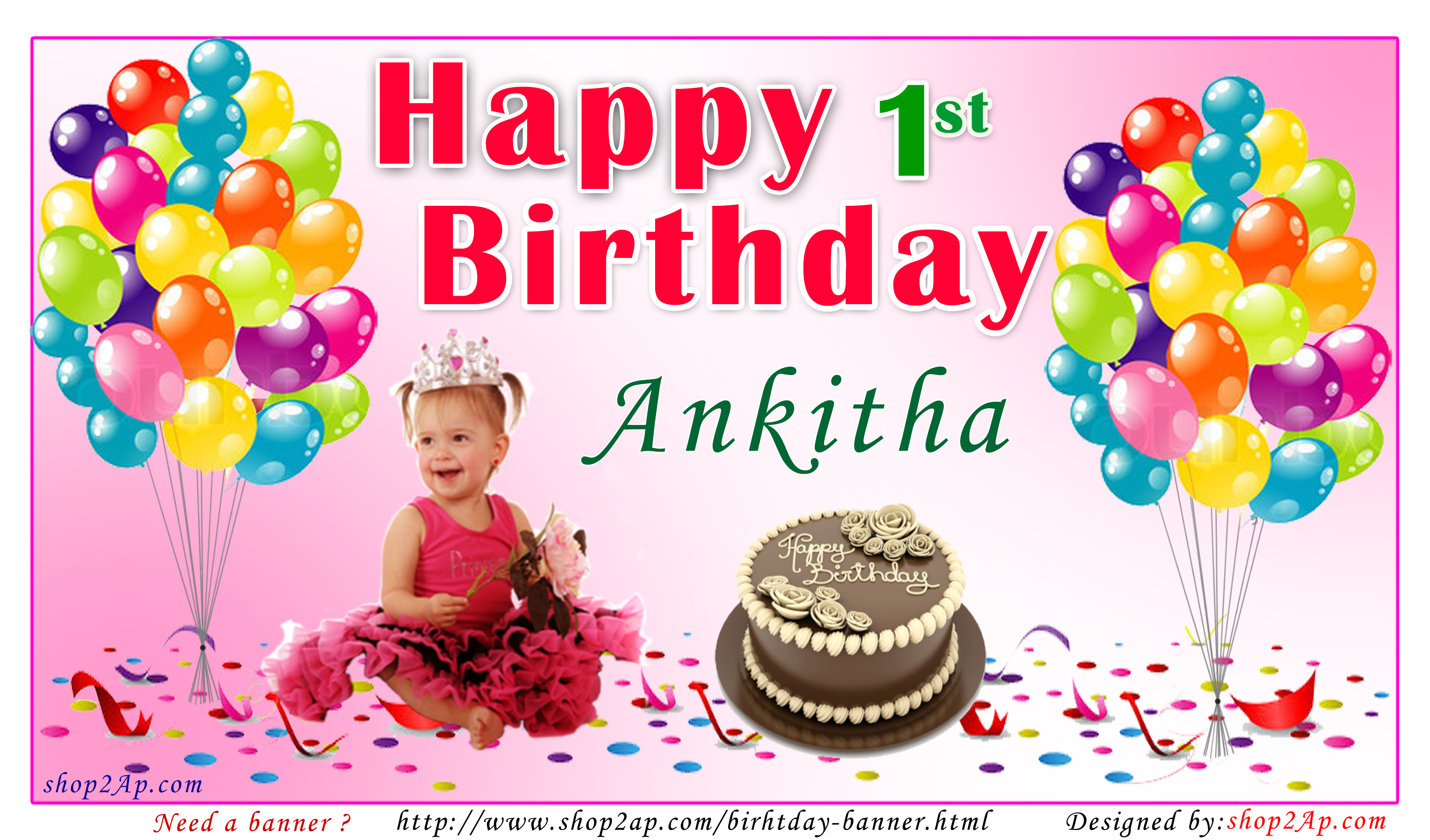 birthday banners with photos ; pink_Background_Shop2ap