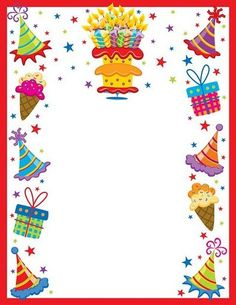 birthday border template free ; 0f02295d34ff0b7f4cd25233540eca70--scrapbook-frames-happy-birthday