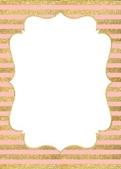 birthday border templates for word ; 38ee727b16374476352071617eff36dd--pink-gold-background-pink-and-gold-invitation-birthdays