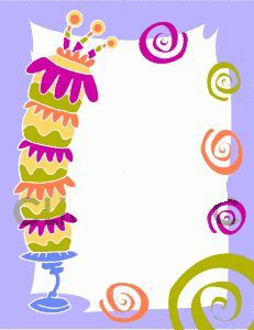 birthday borders free downloads ; birthday-border-5