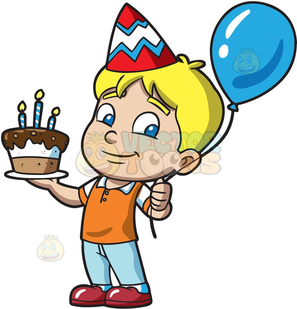 birthday boy clipart images ; kids-celebrating-a-birthday-collection-005