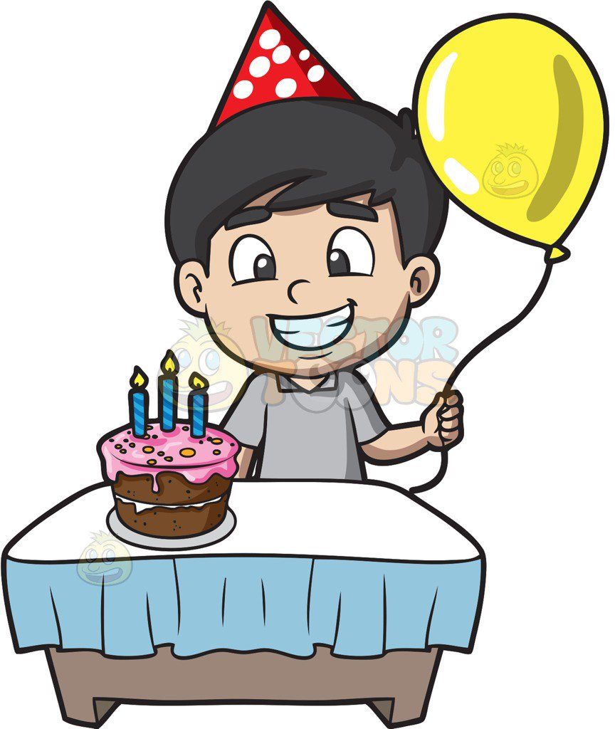 birthday boy clipart images ; kids-celebrating-a-birthday-collection-009