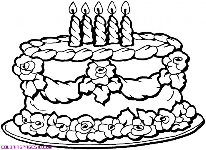birthday cake drawing pictures ; 8225a8067ab72d061058ef379dd5794d