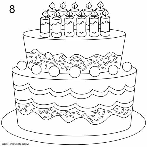 birthday cake drawing pictures ; How-to-Draw-a-Birthday-Cake-Step-8