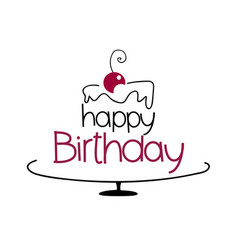 birthday cake drawing pictures ; birthday-cake-drawing-vector-17887343