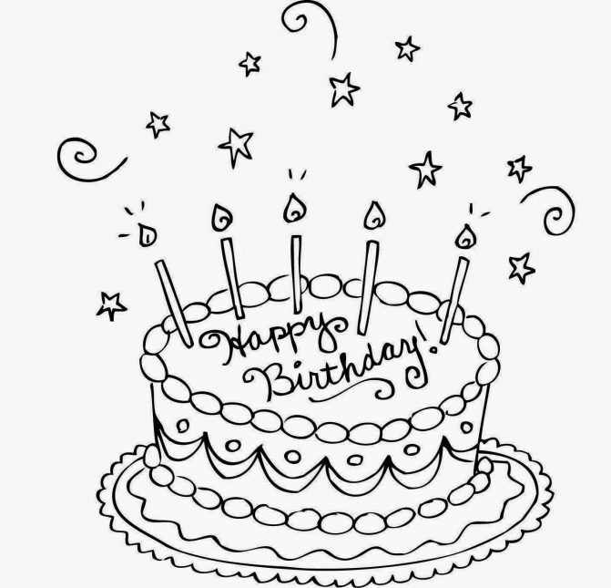 birthday cake drawing pictures ; drawing-birthday-cakes-happy-cake-for-kid-coloring-free-wallpaper10-pages-671x645