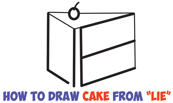 birthday cake easy drawing ; learn-how-to-draw-a-piece-of-cake-word-lie-easy-step-by-step-drawing-tutorial-for-kids