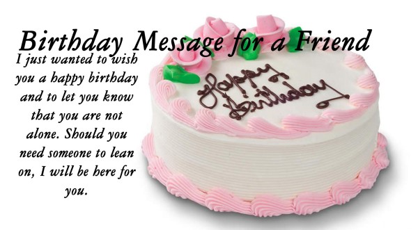 birthday cake images with message ; birthday-cake-images-with-wishes-for-friend-1-600x331