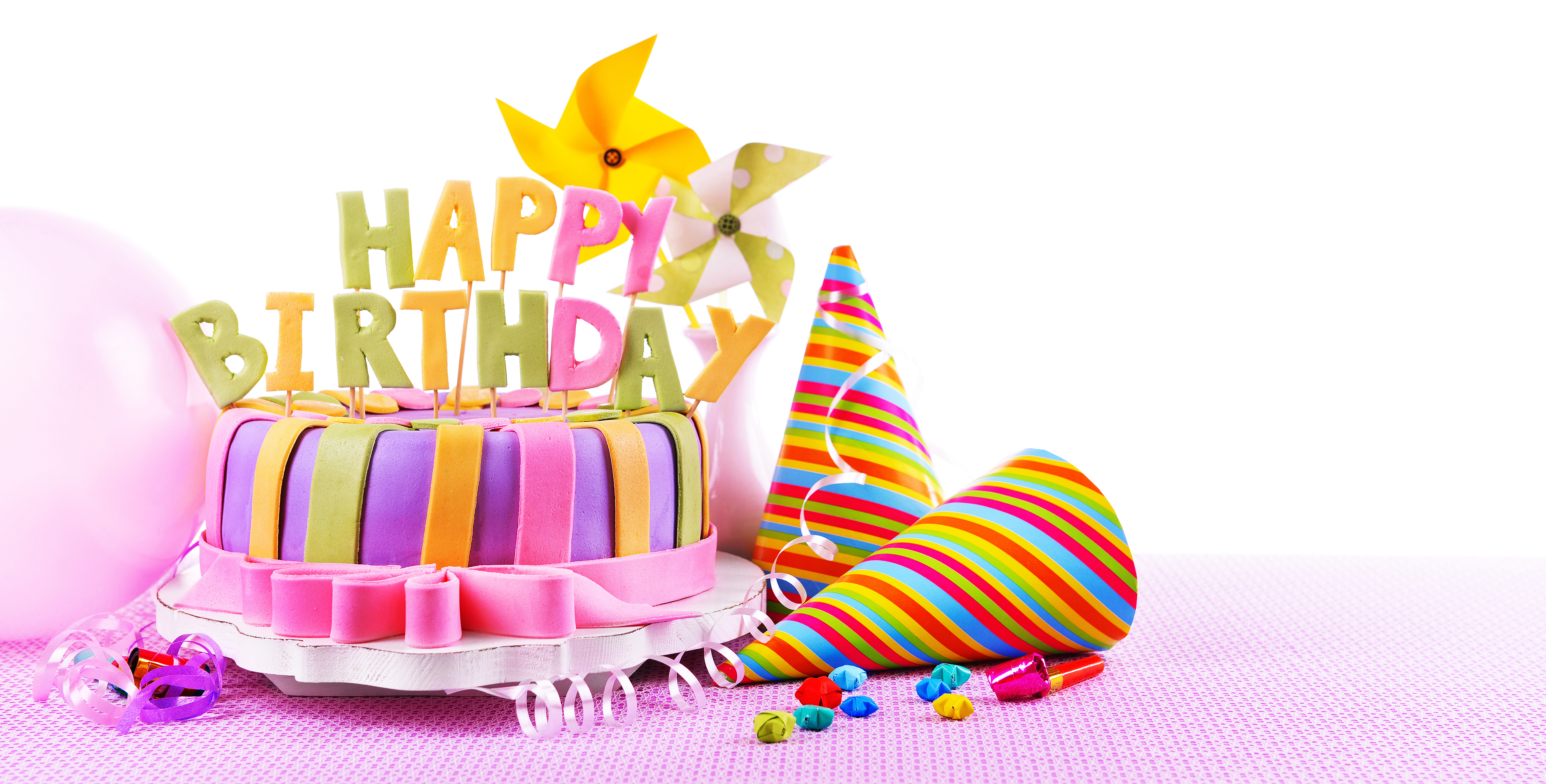 birthday cake wallpaper images ; Happy-Birthday-Cake-With-Balloons-Ultra-Hd-Pic
