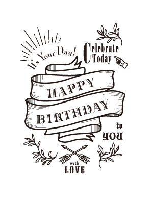 birthday card clipart black and white ; a5a2dce08013c61c50366ef2122d0e39