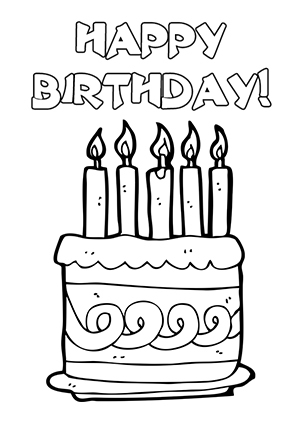 birthday card clipart black and white ; free-black-and-white-birthday-card-clipart-1