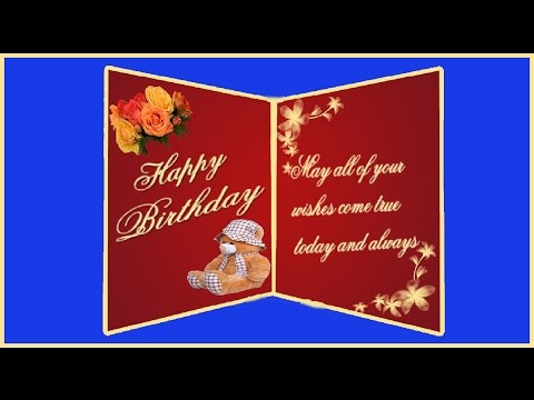 birthday card design in photoshop ; hqdefault