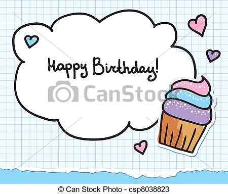 birthday card drawings free ; birthday-greeting-card-eps-vectors_csp8038823