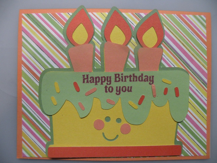 birthday card pictures to draw ; easy-to-make-birthday-cards-how-to-make-cards-creative-handmade-colorful-paper-greeting-car-funny-birthdays-party-making-retro-design-sprinkle-cake-vintage