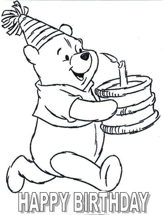 Birthday Card Pictures To Draw Ingenious Inspiration Ideas Coloring Pages
