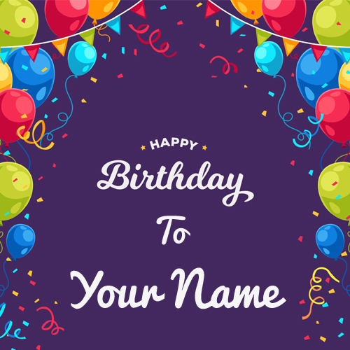 birthday card with picture and name ; b463a13624f1262baabbae432c02cb14