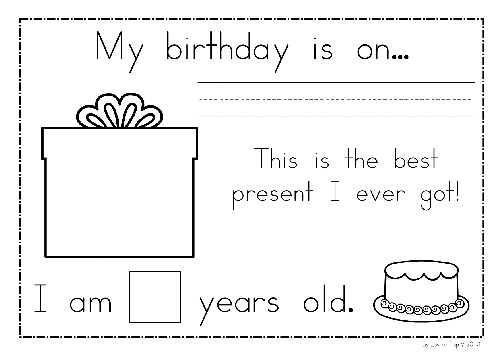 birthday card worksheet ; 7f68d77f520689024b134269c049dbe7