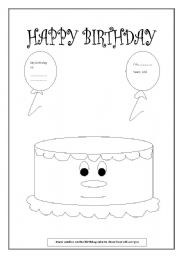 birthday card worksheet ; thumb203030210118295