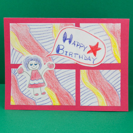 birthday cards for drawing ; Kids4PatchPencils440