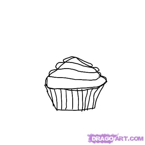 birthday cupcake drawing ; how-to-draw-a-birthday-cupcake-step-3_1_000000007399_5