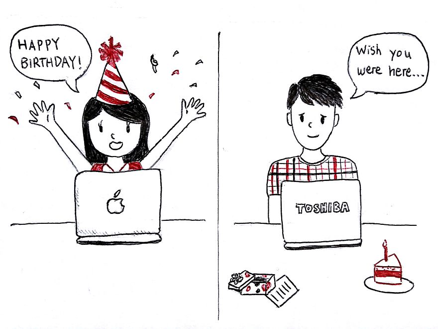 birthday drawings for boyfriend ; i-draw-what-its-like-to-be-in-a-long-distance-relationship-2__880