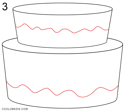 birthday drawings step by step ; How-to-Draw-a-Birthday-Cake-Step-3