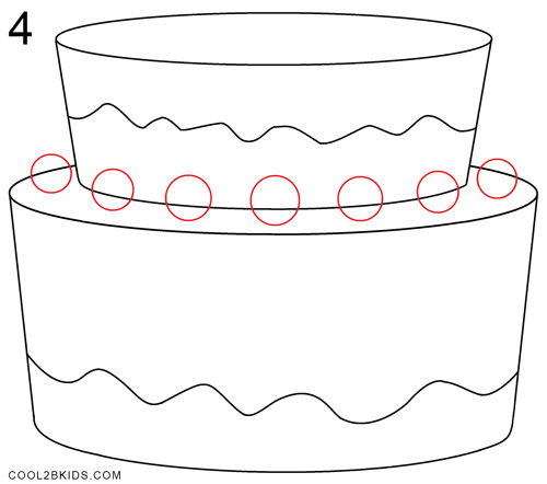 birthday drawings step by step ; How-to-Draw-a-Birthday-Cake-Step-4