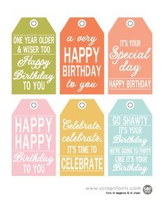 birthday gift labels template ; 8b423af76db062945d4583aef68d21d6