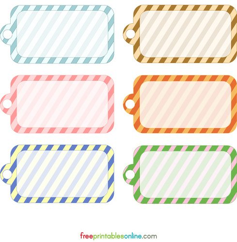 birthday gift labels template ; Printable-Gift-Tags1