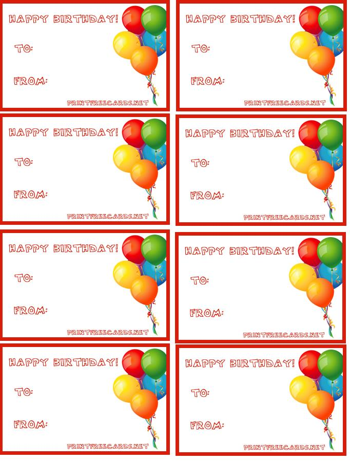 birthday gift labels template ; birthdaytags7