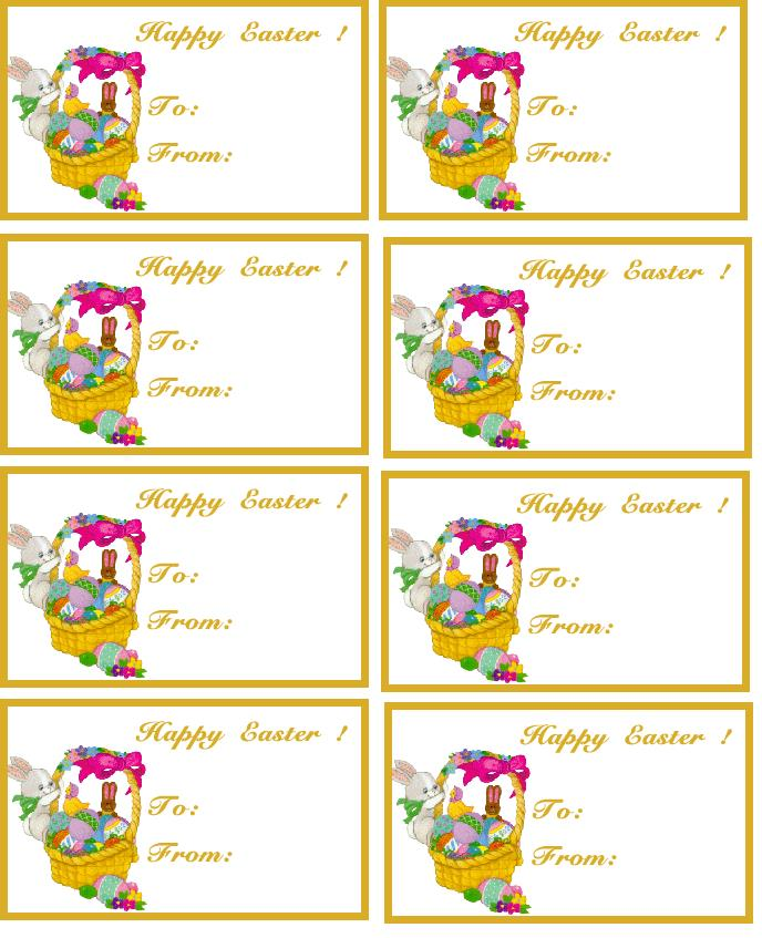 birthday gift labels template ; eastertags3