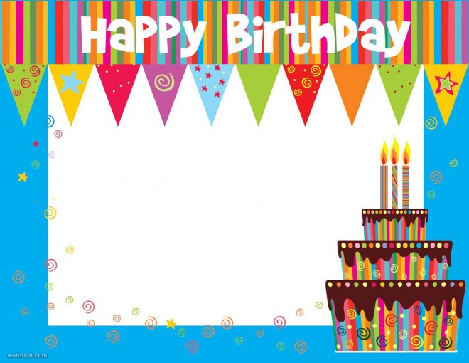birthday greeting card background design ; 34-birthday-cards-background