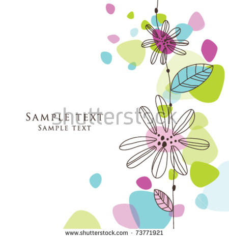 birthday greeting card background design ; stock-vector-cute-birthday-greeting-card-with-stylish-colorful-shaped-background-simple-hand-drawn-unique-73771921