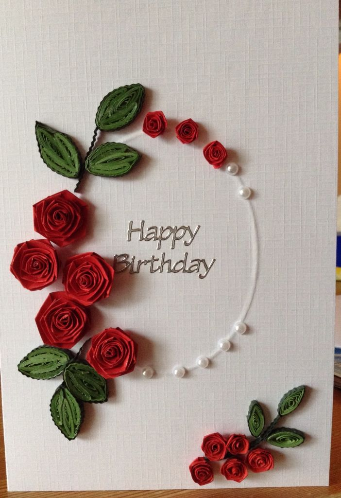 birthday greeting card design quilling ; 156ba03c3d57995199c364067e9aa26b