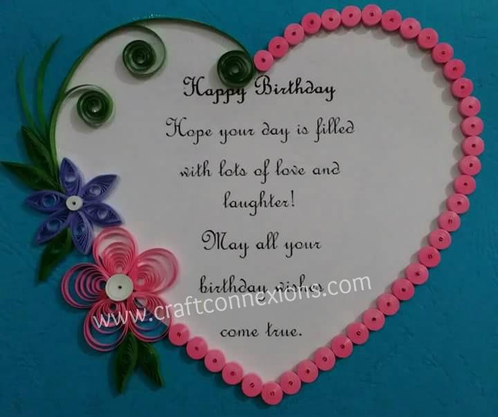 birthday greeting card design quilling ; 2f5c7c32be72d41fb1acac9ef1b404a2