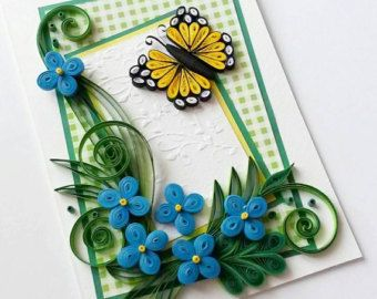 birthday greeting card design quilling ; 2fe18d827fef75f6467ca32055d0c84f
