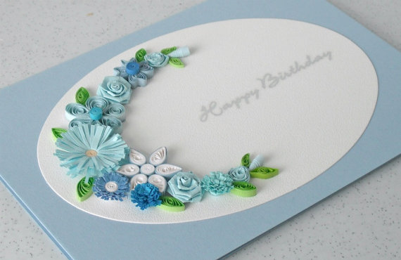 birthday greeting card design quilling ; 84fb696517a1fdc483eaaa13a92ad11c
