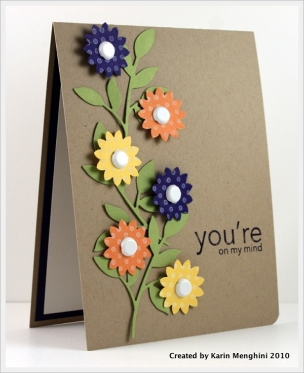 birthday greeting card designs handmade ; 30-cool-handmade-card-ideas-for-birthday-christmas-and-other-pertaining-to-simple-handmade-greeting-cards-designs