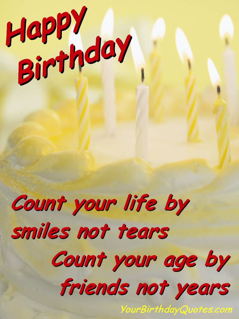 birthday greeting cards for friends with quotes ; c3d575ae811c312a53cfd4aba1b94ba4