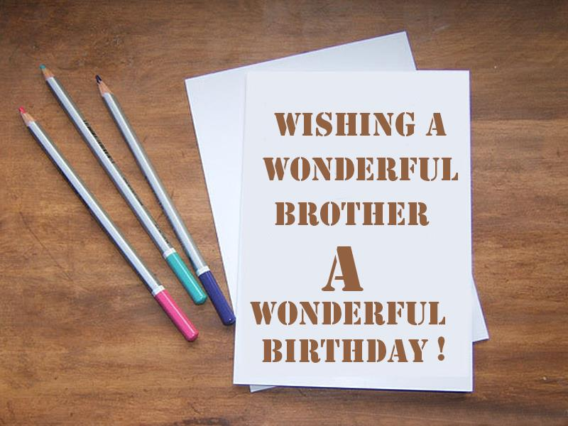 birthday greeting for brother messages ; Birthday-greetings-for-brother
